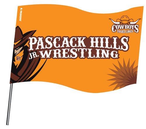Pascack Hills Cowboys Sublimated Flag