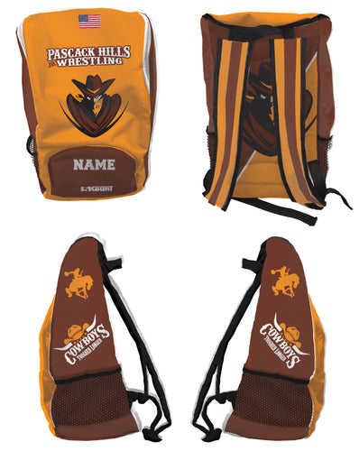 Pascack Hills Cowboys Sublimated Backpack