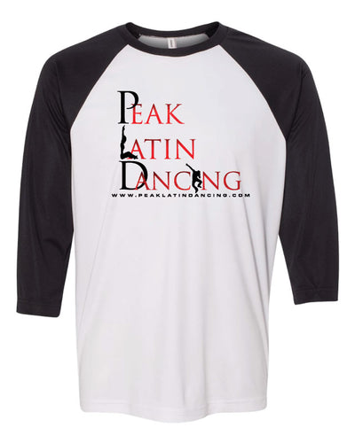 Peak Baseball Shirt - black/white