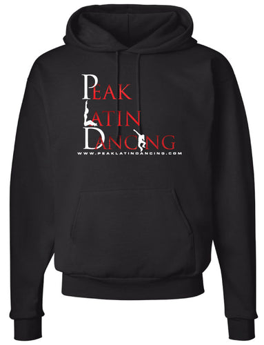 Peak Cotton Hoodie - black