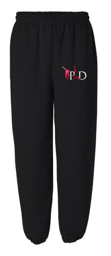 Peak Cotton Sweatpants - black