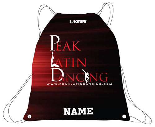 Peak Sublimated Drawstring Bag