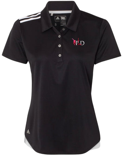 Peak Ladies' Adidas Polo - black