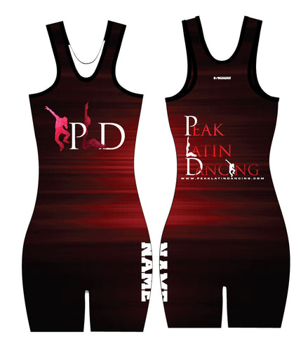 Peak Ladies Sublimated Leotard