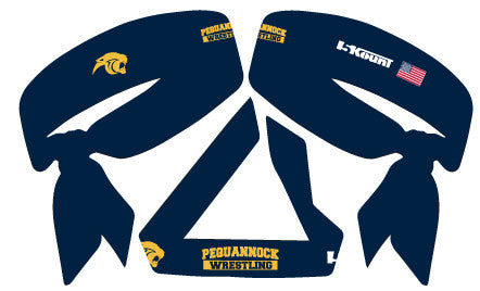 Pequannock Wrestling 2017 Sublimated Headband - 5KounT2018