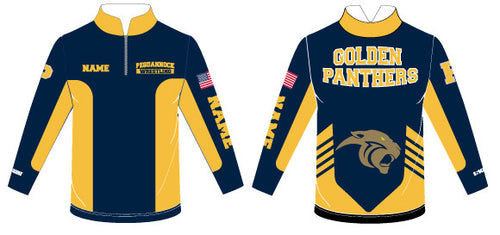 Pequannock Wrestling Sublimated Quarter Zip - 5KounT2018