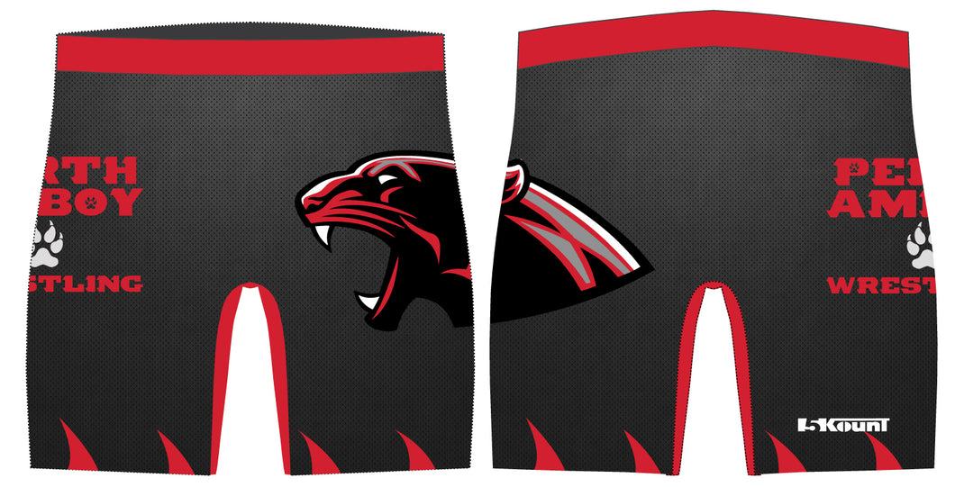 Perth Amboy Sublimated Compression Shorts - 5KounT