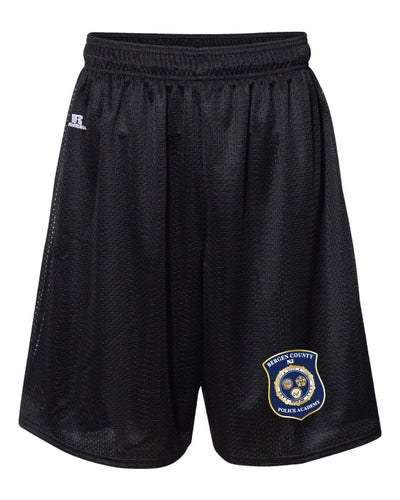 Bergen County Police Academy Russell Athletic Tech Shorts - 5KounT2018