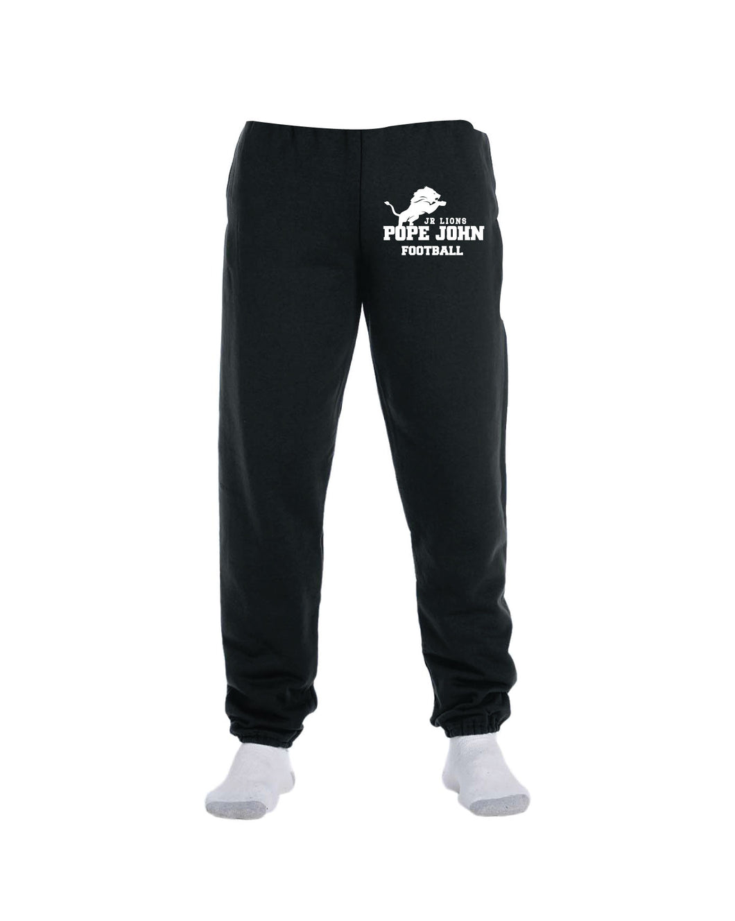 Pope John Jr. Lions Football Cotton Sweatpants