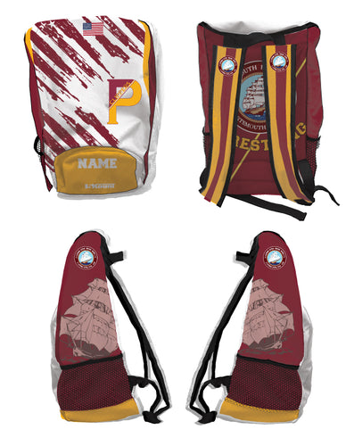 Portsmouth HS Wrestling Sublimated Backpack