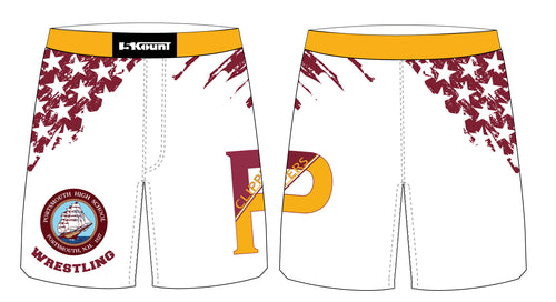 Portsmouth HS Wrestling Sublimated Fight Shorts
