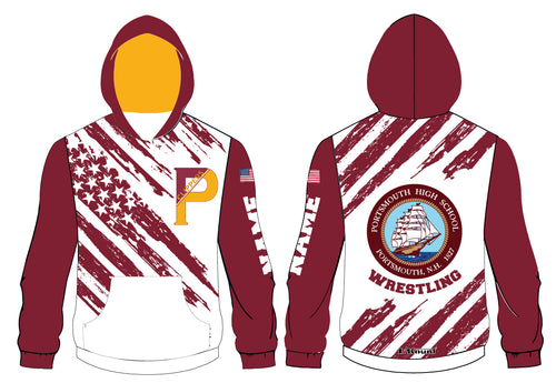 Portsmouth HS Wrestling Sublimated Hoodie