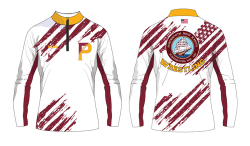Portsmouth HS Wrestling Sublimated Quarter Zip