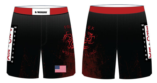 ProEx Wrestling Club Sublimated Fight Shorts - 5KounT2018