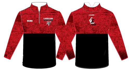Lakeland Jr. Wrestling Sublimated Quarter Zip - 5KounT2018