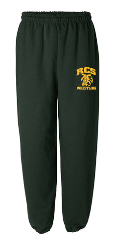 RCS Wrestling Cotton Sweatpants - Forest
