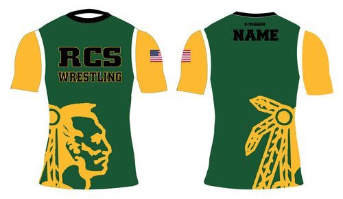 RCS Wrestling Sublimated Compression Shirt