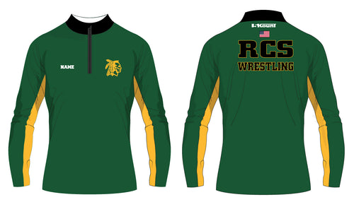 RCS Wrestling Sublimated Quarter Zip