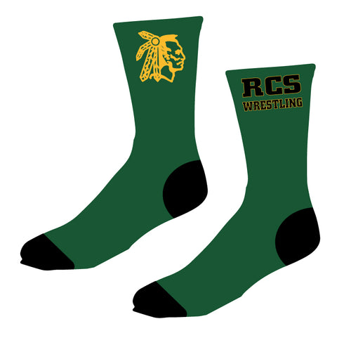 RCS Wrestling Sublimated Socks