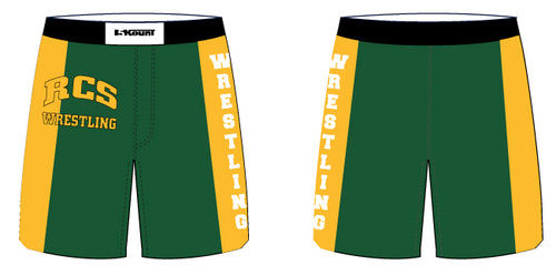 RCS Wrestling Sublimated Fight Shorts