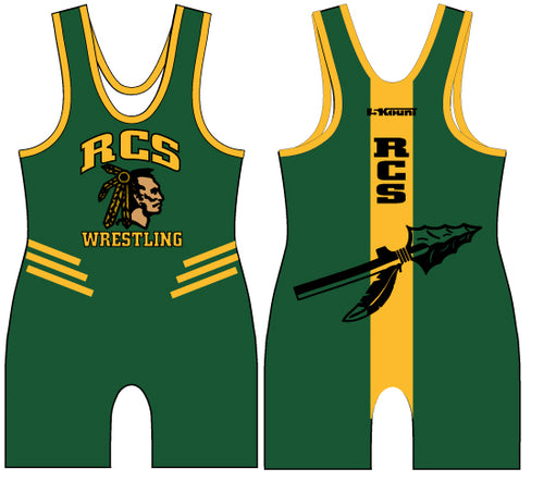 RCS Wrestling Sublimated Singlet