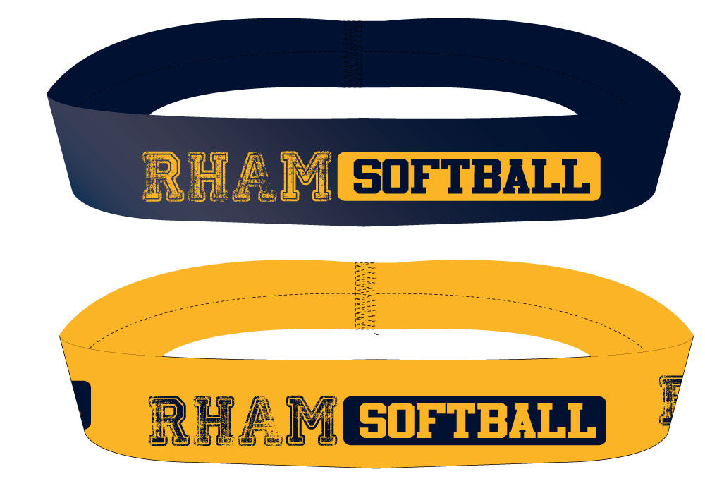 RHAM Softball Headband