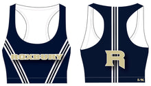 Roxbury Cheer Sublimated Sports Bra - Stripes