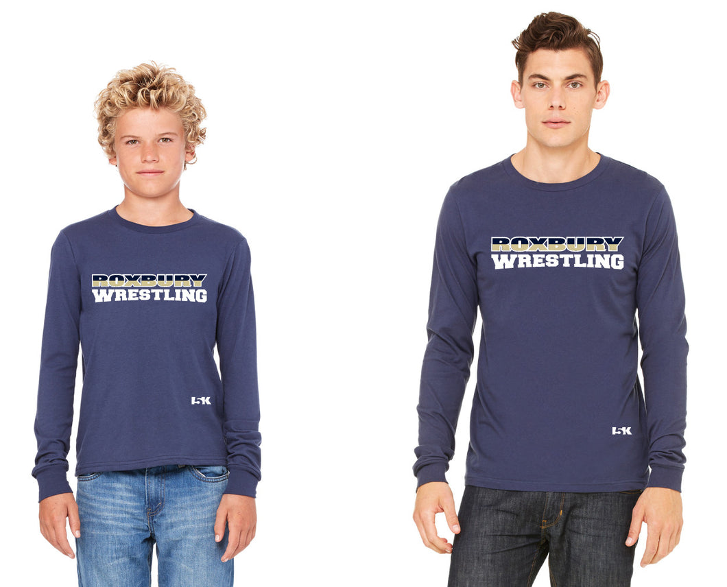 Roxbury Wrestling Long Sleeve Cotton Tee