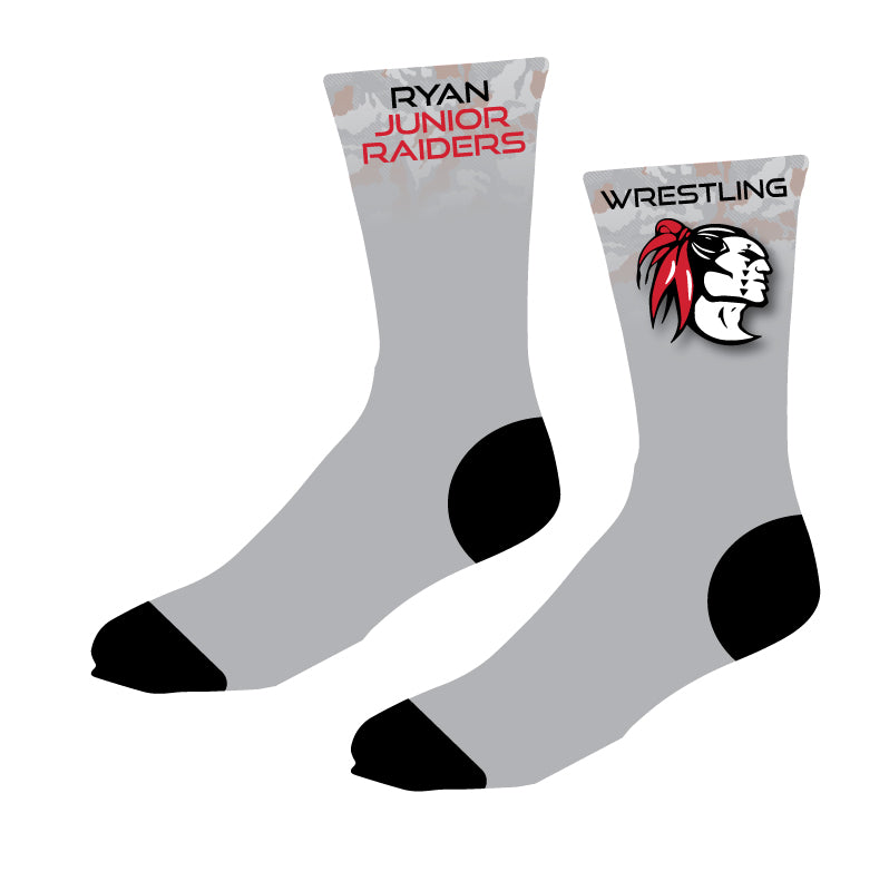 Ryan Jr. Raiders Sublimated Socks - 5KounT