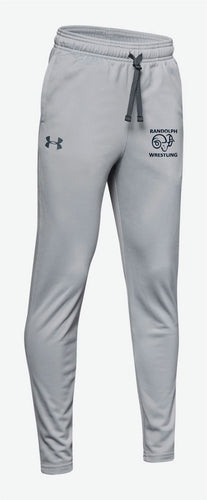 Randolph Wrestling Youth Under Armour Sweatpants - Gray