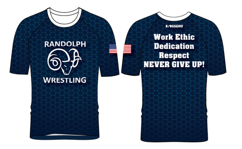 Randolph Wrestling Sublimated Fight Shirt 2