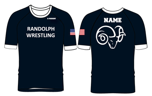 Randolph Wrestling Sublimated Fight Shirt