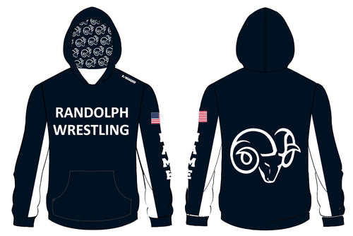 Randolph Wrestling Sublimated Hoodie