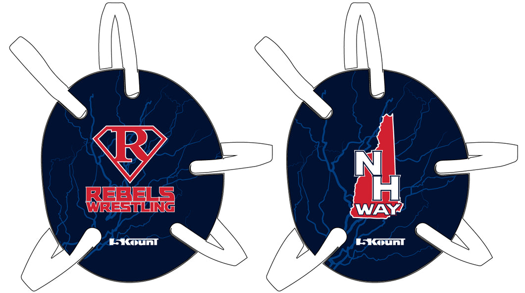 Rebels Wrestling Headgear with Decal