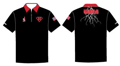 Rebels Wrestling Sublimated Polo