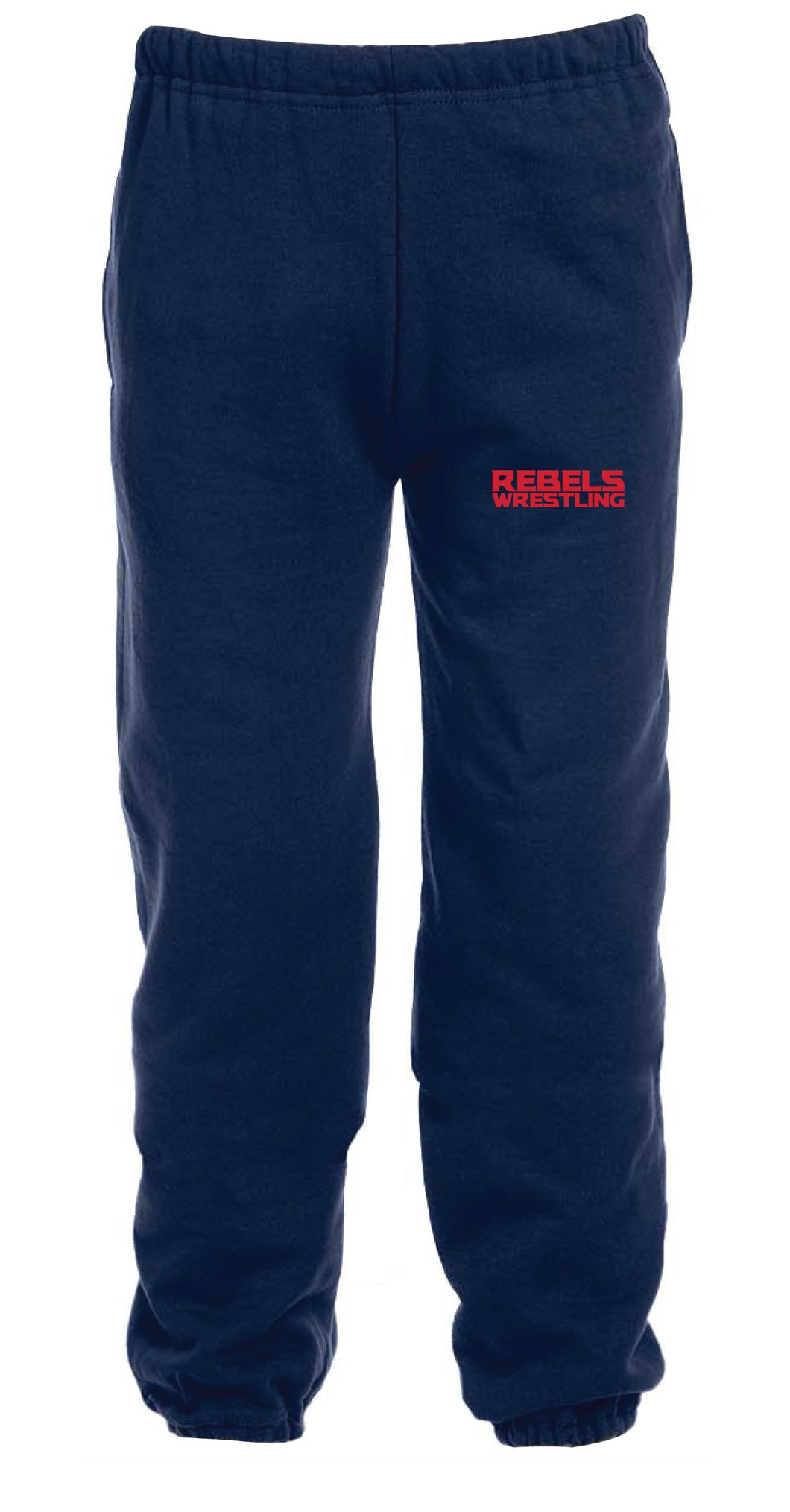 Rebels Wrestling Cotton Sweatpants