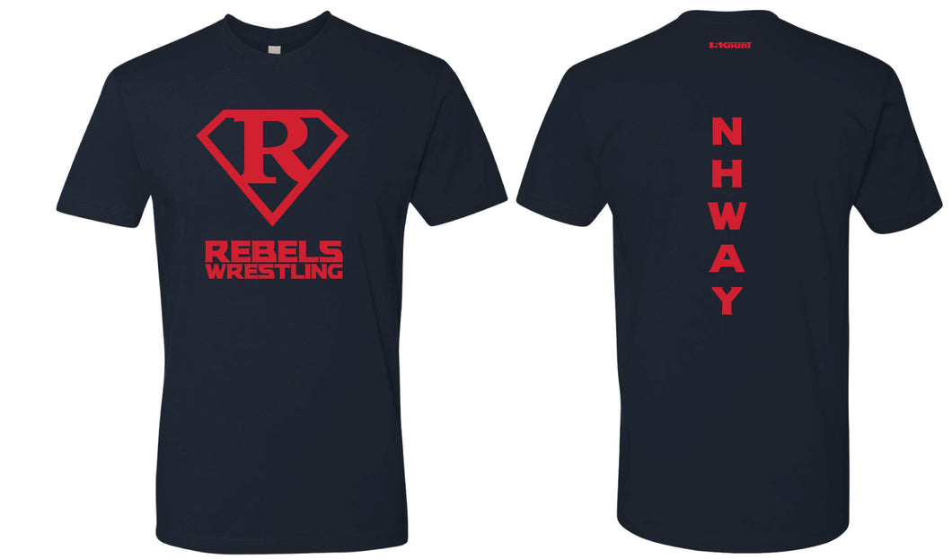 Rebel Wrestling Cotton Crew Tee
