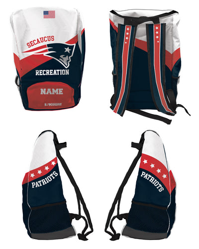Secaucus Recreation Sublimated Backpack - 5KounT2018