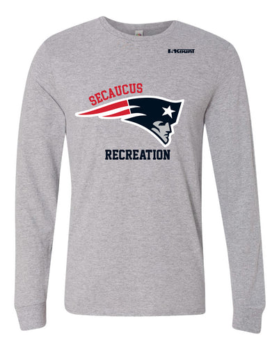 Secaucus Recreation Cotton Long Sleeve - Heather Grey - 5KounT2018