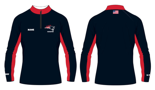 Secaucus Recreation Sublimated Quarter Zip v2 - 5KounT2018