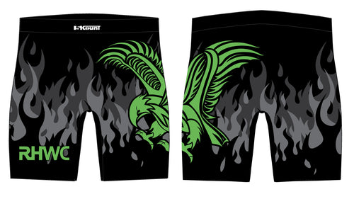 RedHawk Wrestling Club Sublimated Compression Shorts - 5KounT2018