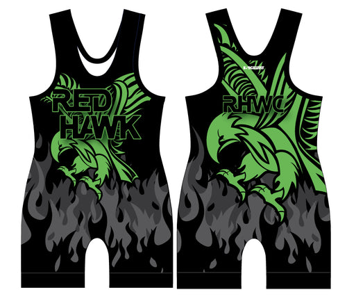 RedHawk Wrestling Club Sublimated Singlet - 5KounT2018