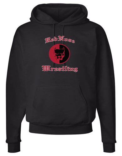 Red Nose Cotton Hoodie