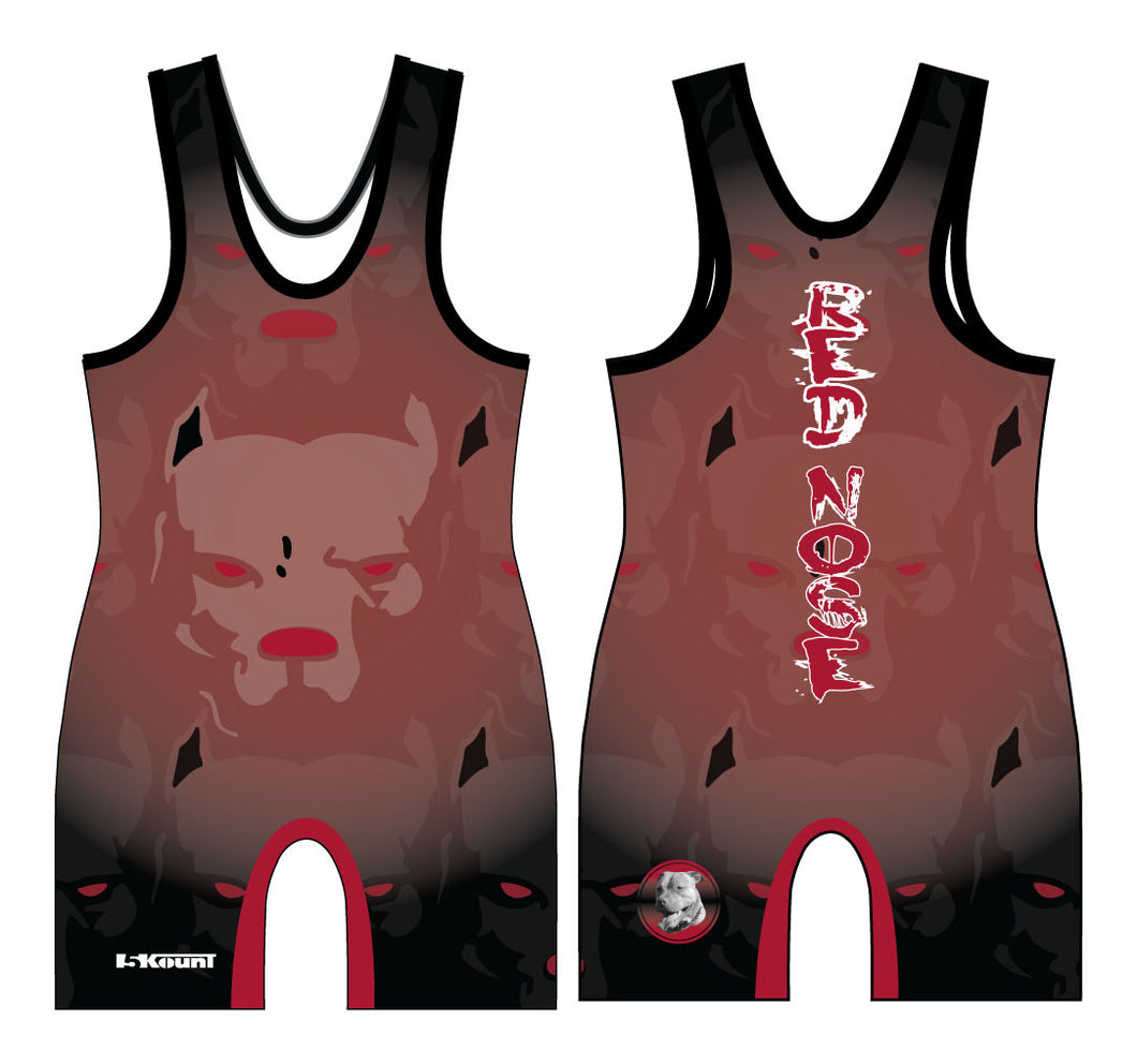 Red Nose Sublimated Singlet