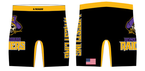 Reynoldsburg Wrestling Sublimated Compression Shorts