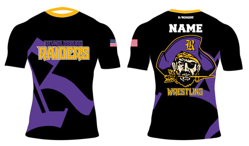 Reynoldsburg Wrestling Sublimated Compression Shirt
