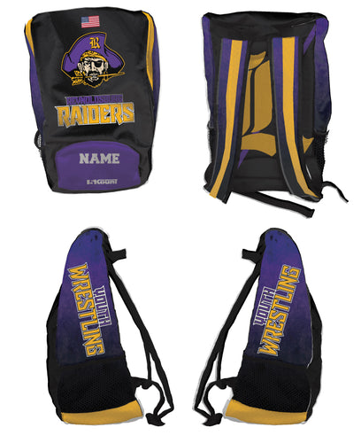 Reynoldsburg Wrestling Sublimated Backpack