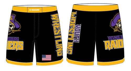 Reynoldsburg Wrestling Sublimated Fight Shorts