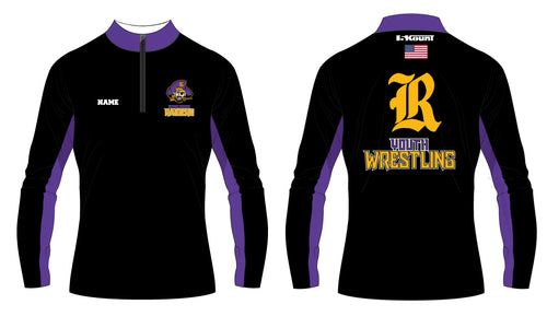 Reynoldsburg HS Wrestling Sublimated Quarter Zip