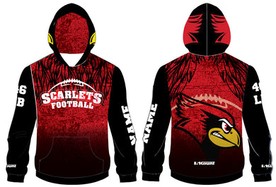 Scarlets Football Sublimated Hoodie